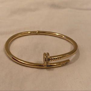 Jewelry - Gold Nail Bracelet